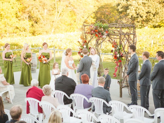 Summerset Winery in Indianola can host indoor and outdoor spaces for weddings for up to 256 guests.