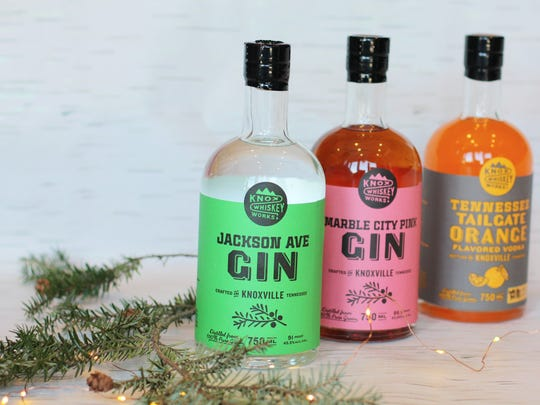 Small batch craft distillery Knox Whiskey Works handcrafts a variety of spirits.
