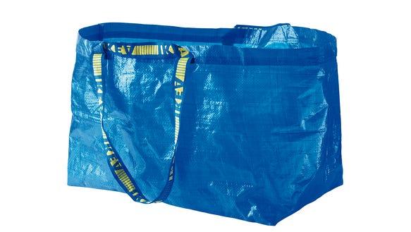 """IKEA's classic """"FRAKTA."""""""