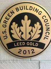 William Johnson building is certified LEED Gold.
