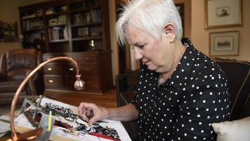 Handmade: 'Free needlepoint lessons' have paid off