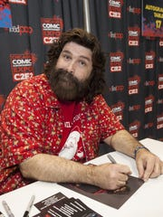 WWE Hall of Famer Mick Foley at the Chicago Comic & Entertainment Expo at McCormick Place in 2014.