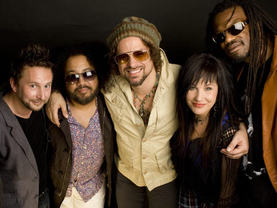 Rusted Root headlines a show Sunday, Dec. 31, at the