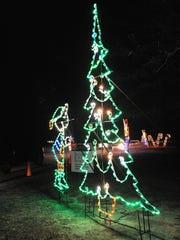 Winter WonderFest is a drive-thru light show at Cape Henlopen State Park. It raises money for charities.