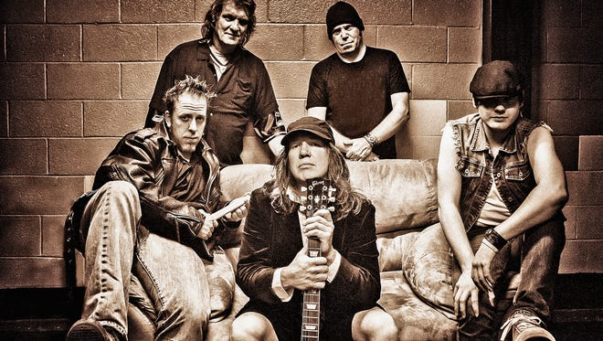AC/DC tribute band Shoot to Thrill plays the Independence Amphitheater on August 4.