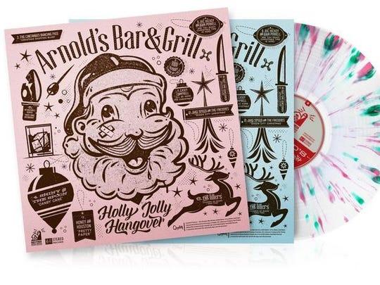 """Arnold's Bar & Grill's """"Holly Jolly Hangover"""" album."""