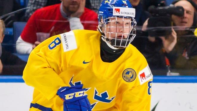 Defenseman Rasmus Dahlin is the consensus No. 1 pick.