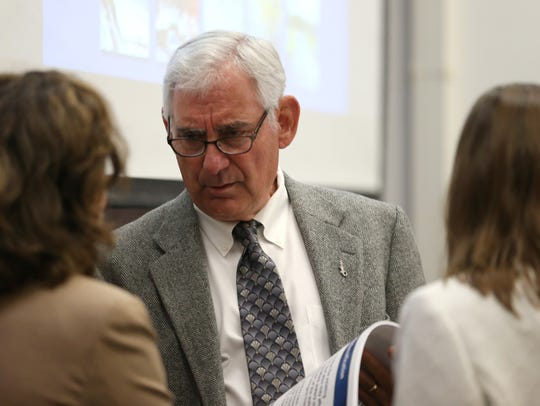 Environmental Regulation Commissioner Joe Joyce talks