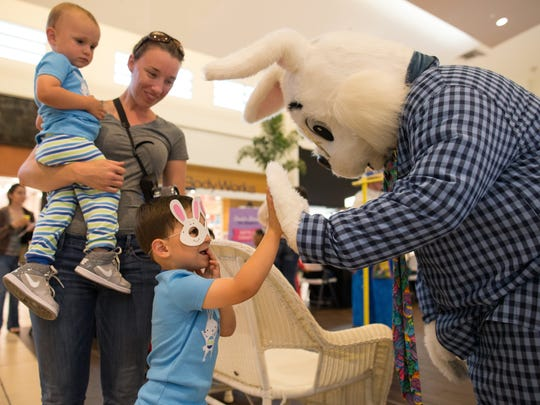 Spring into Easter fun at the La Palmera Breakfast with the Easter Bunny Pajama Party. Wear you favorite bunny slippers and pjs to the free event designed for kids 5 and younger from 10 a.m. to noon Tuesday in the Center Court. There will be a petting zoo, arts and crafts, face painting and games, and the first 100 children will receive a goodie bag. For more information, call 361-991-3755.