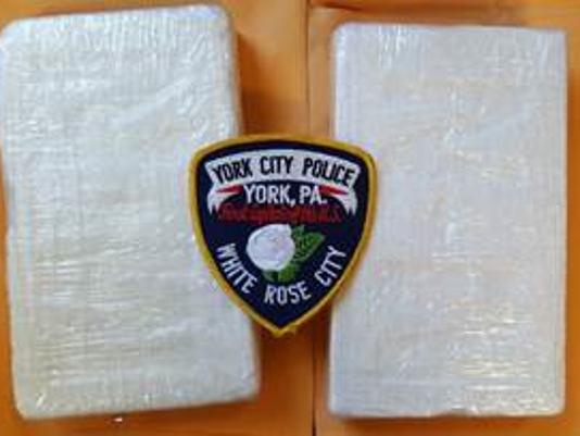 York City Police seized 4.4 pounds of cocaine