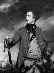 British Lt. Gen. John Burgoyne (1722-1792) by Joshua Reynolds, circa 1766.