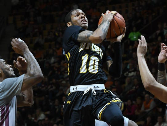 UMBC guard Jairus Lyles is the go-to player for the Retrievers.