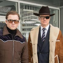 Review: Cluttered 'Kingsman' falls into self-parody