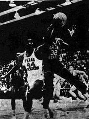 GIVE ME THAT - Harry Flournoy (44) Texas Western's