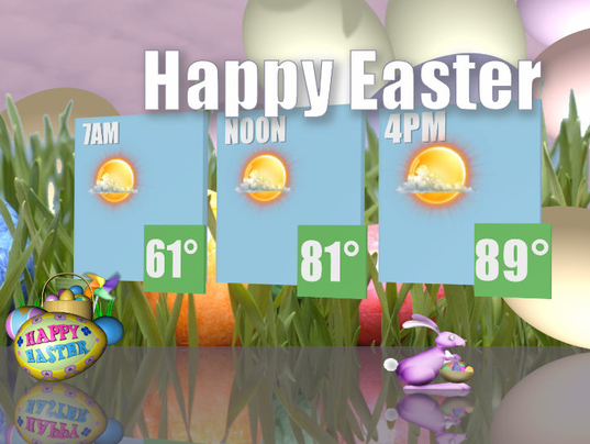 12 easter sunday weather facts for phoenix for What day does easter fall on this year