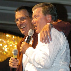 William Shatner tweeted that he will have to miss Leonard Nimoy's funeral on Sunday due to a conflicting event.