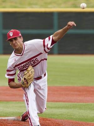 Indiana's Kyle Hart will be key as the Hoosiers' Friday starter.
