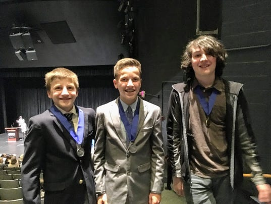 Woodglen students win at NJ History Day Competition