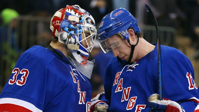The Rangers are 10-3 in their last 13 games against the Coyotes.