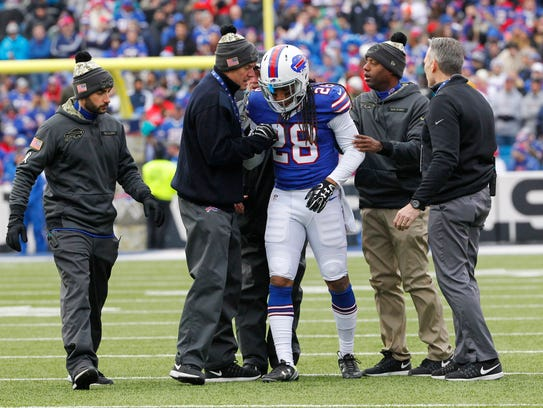 Ronald Darby suffered a concussion last week and his