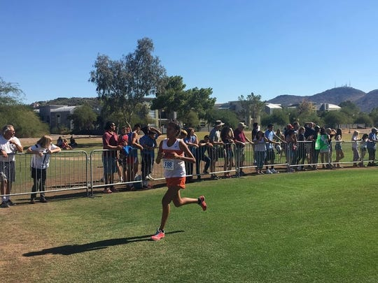 Nichole Segay runs cross-country for Camelback High School in Phoenix. The 16-year-old says a male student athlete sexually assaulted her in April 2017.