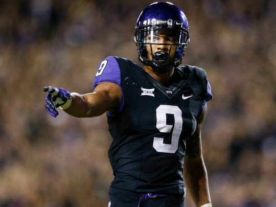 TCU Horned Frogs wide receiver Josh Doctson finished with 79 receptions for 1,327 yards and 14 touchdowns last season.
