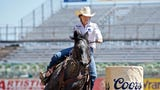 Nellie Miller talks about her barrel racing career. In 2018, she was the No. 3-ranked barrel racer in the world and was set to compete in December of that year at the National Finals Rodeo.