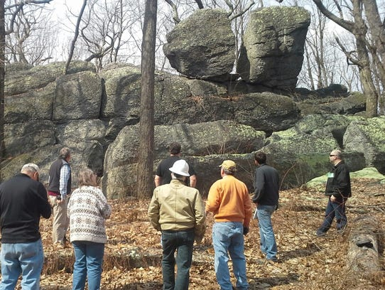 Attendees of the Geological Society of America's Northeastern