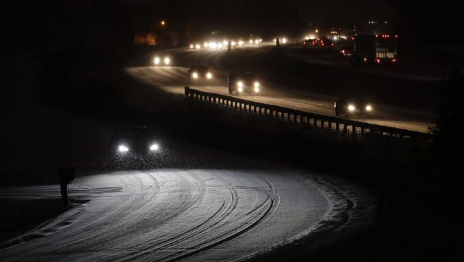Winter weather caused at least one cancellation Monday.