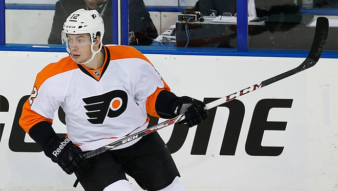 Forward Michael Raffl is one of five Flyers slated to play in the Sochi Olympics.