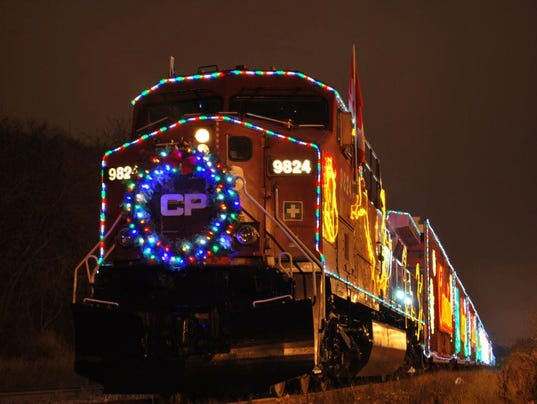 submitted holiday train