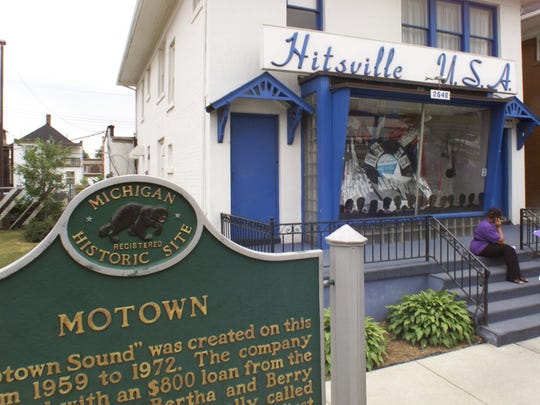 Hitsville U.S.A., a museum dedicated to Motown, is on Grand Boulevard in Detroit.