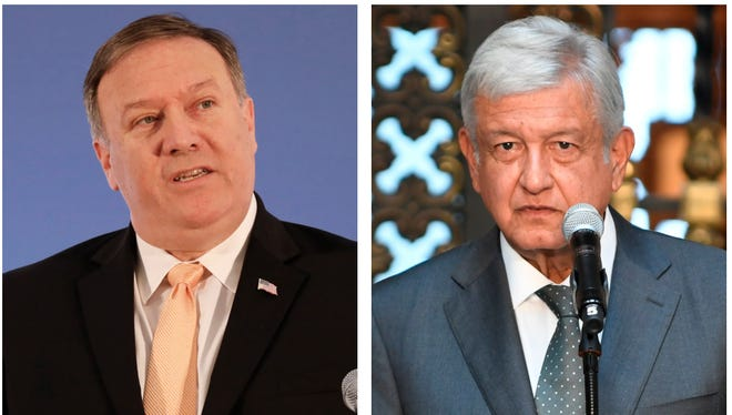 Mike Pompeo, AMLO.
