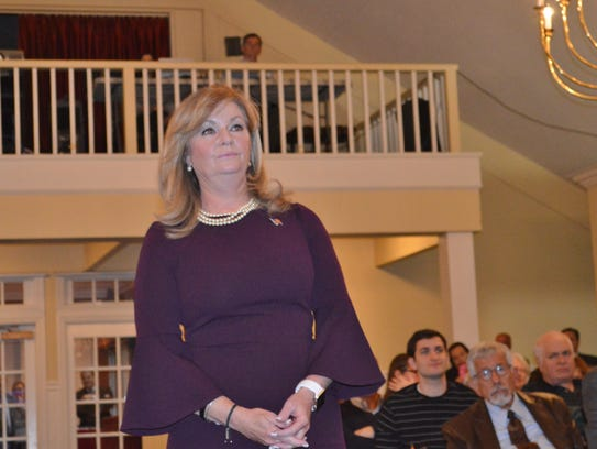 Putnam County Executive MaryEllen Odell, in her March