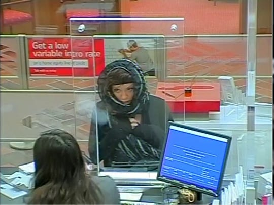 Police in Thousand Oaks are asking for the public's help to identify a woman in connection with an attempted bank robbery Dec. 5 at a Bank of America on Borchard Road in Newbury Park.