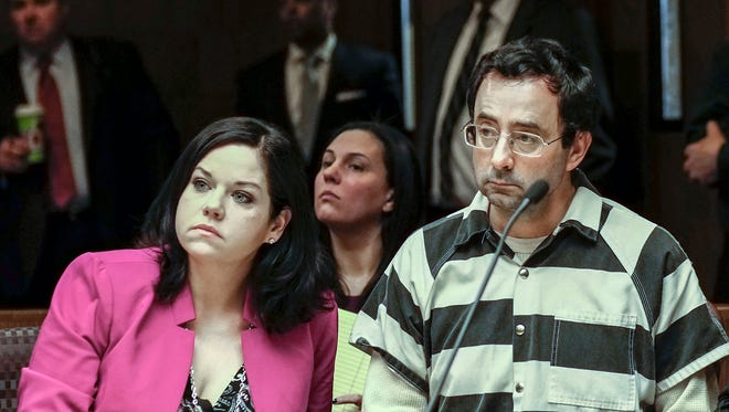 Criminal defense attorney Shannon Smith has received death threats,loads of hate mail and nasty phone calls over representingLarry Nassar.
