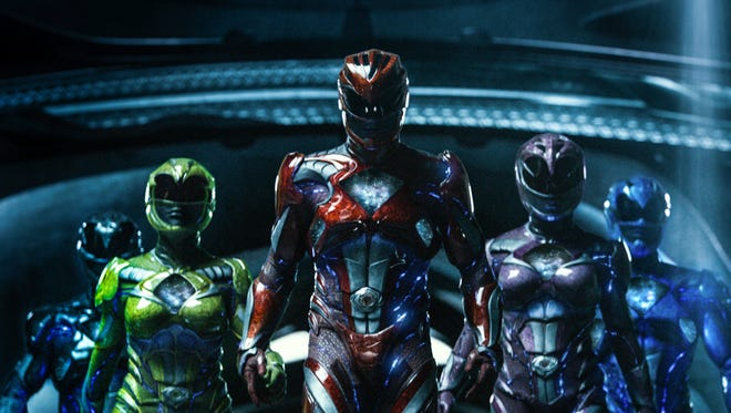 "It's morphin' time for five teenagers with attitude in the movie ""Power Rangers."""