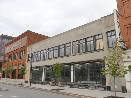 The former Merkel Donohue Building at 210 South Ave.