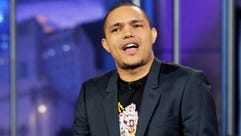 Comedian Trevor Noah performs on the Tonight Show With