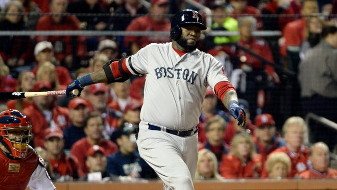 David Ortiz is the only holdover from the 2004 World Series championship team.