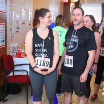 Greendale resident climbed the U.S. Bank Center in honor of sister-in-law