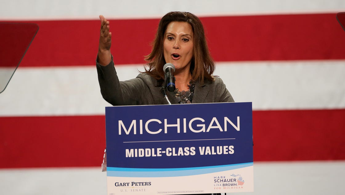 Gretchen Whitmer Files For 2018 Michigan Governor S Race