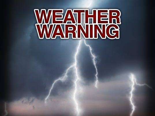 Presto graphic WeatherWarning