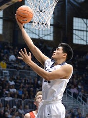 Freshman Christian David was perfect from the field in Butler's win over Youngstown State.