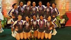 New Rochelle's Cheerleading team finished third in the Small Varsity, Division I bracket of the UCA High School National Championships in Orlando, Florida on February 6th-7th, 2016.