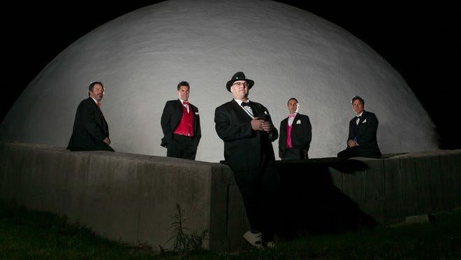 "Blues Traveler, currently touring behind their CD ""Blow Up the Moon,""performs 7:30 p.m. Thursday. L'Auberge Casino & Resort. The band originally formed in 1987 in the Princeton area and was considered one of the forerunners of the jam band movement of the 1990s."