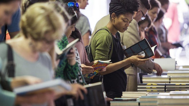 The Texas Book Festival returns in October in a hybrid format that will include a Festival Weekend on the grounds of the state Capitol and along Congress Avenue.