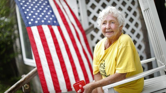 Jackie McDonnell, a resident of Weymouth's Wessagusset Beach neighborhood, wonders how different it will be on July 4 this year.