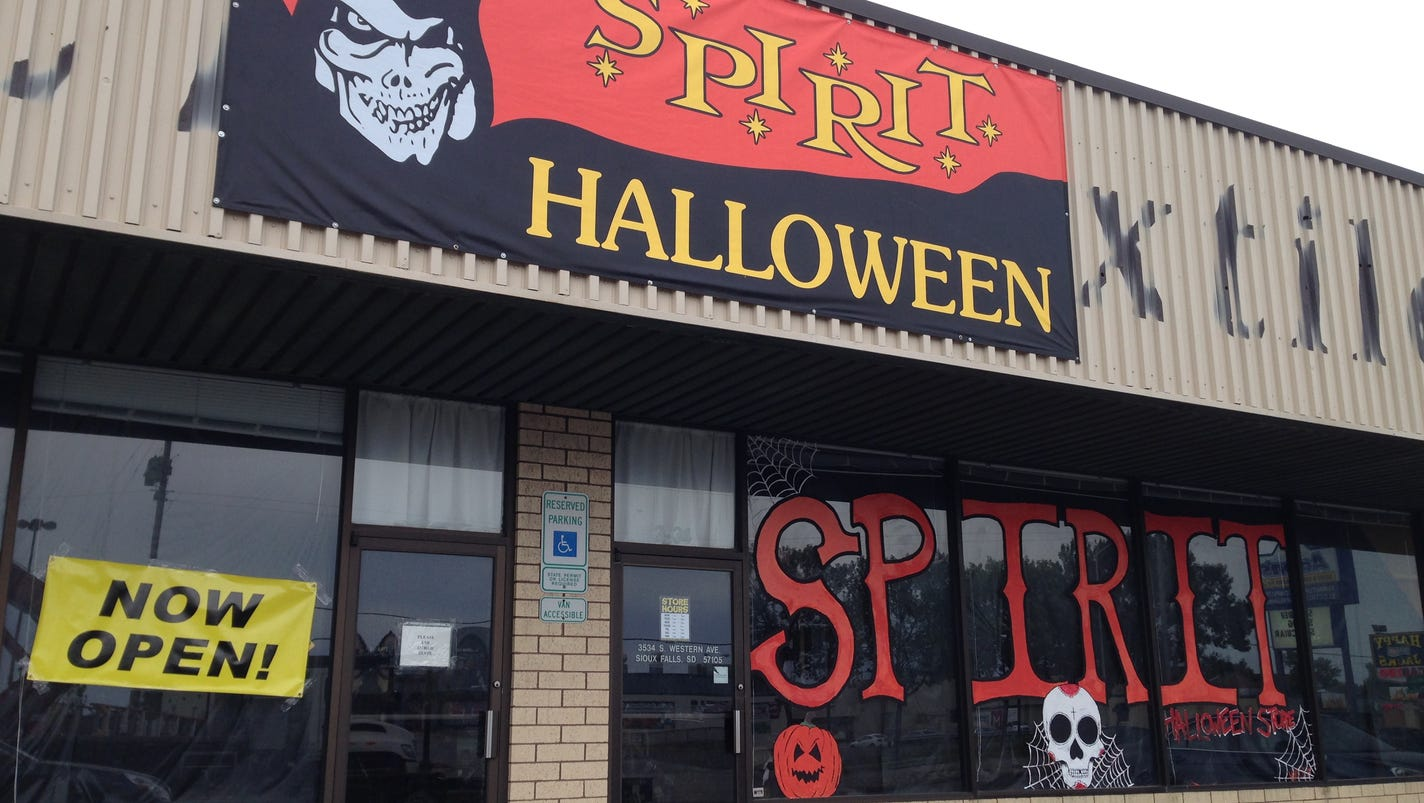 Seasonal Halloween stores open