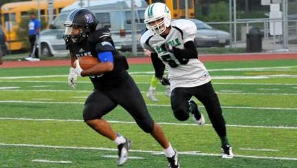 Clark Montessori RB Micah Blythe had 19 carries for 336 yards and three touchdowns Saturday.